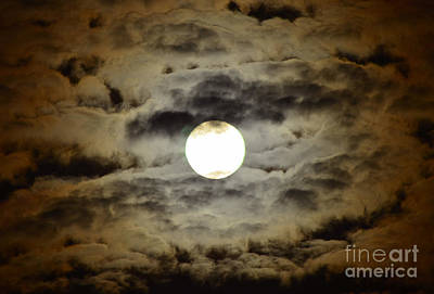 Photograph - Full Moon Number 37 by Christopher Shellhammer