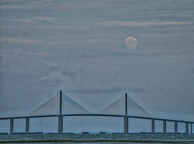 Photograph - Full Moon Rising by Jane Luxton