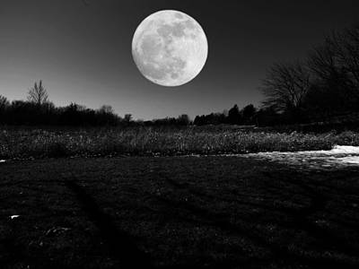 Photograph - Full Moon Rising by Kyle West