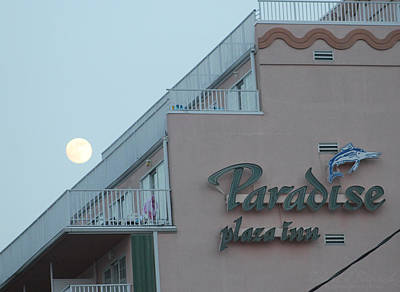 Photograph - Full Moon Rising Over Paradise by Robert Banach