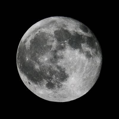 Photograph - Full Moon by Robert Lane