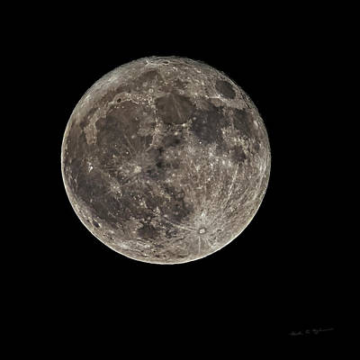 Photograph - Full Moon S23c by Mark Myhaver