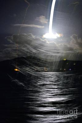 Photograph - Full Moon Sail by Tamara Michael