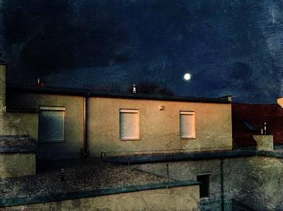 Photograph - Full Moon by Siegfried Ferlin