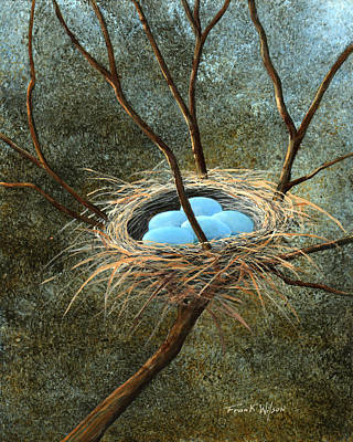 Painting - Full Nest by Frank Wilson