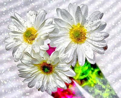 White Flower Photograph - Full Of Life by Krissy Katsimbras