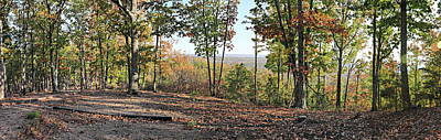 Photograph - Full Panoramic View From The Summit Of Brown's Mountain Trail by Simply Photos
