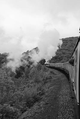 Photograph - Full Steam A Head by Lee Fennings