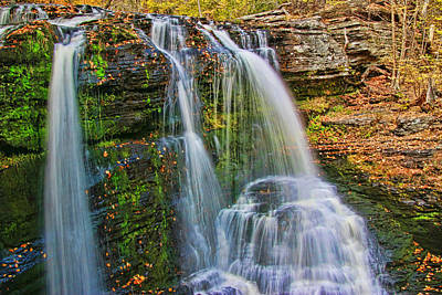 Photograph - Fulmer Falls - Childs State Park 3 by Allen Beatty