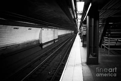 fulton street station new york subway New York City USA Art Print