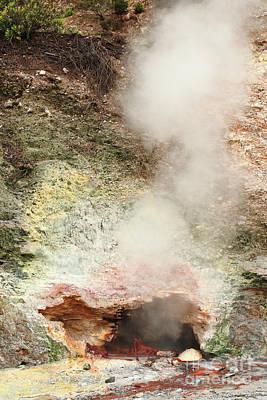 Furnas Photograph - Fumarole In Furnas Valley by Gaspar Avila