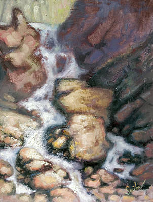 Painting - Fumee Falls by Larry Seiler