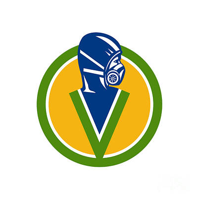 Pest Digital Art - Fumigation Pest Control Service Icon by Aloysius Patrimonio