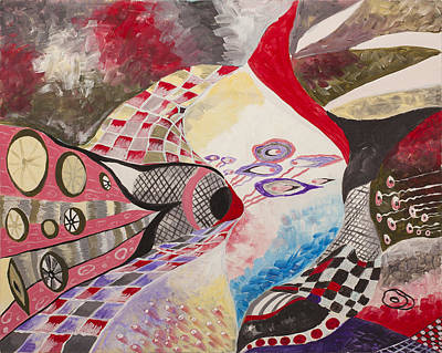 Worthy Painting - Fun And Competitive by Irina Shumskaya