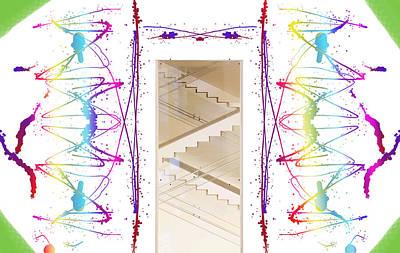 Digital Abstract Art Digital Art - Fun Art by Britten Adams