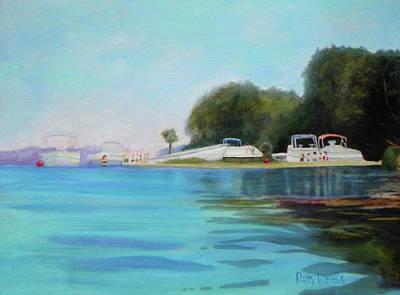 Painting - Fun At Salt Springs Too by Patty Weeks