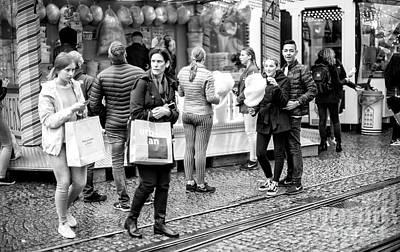 Photograph - Fun At The Street Fair by John Rizzuto