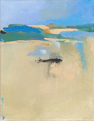 Cape Cod Painting - Fun Beach Landscape II by Jacquie Gouveia