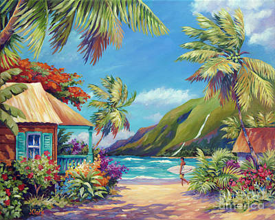 North Shore Painting - Fun Day Ahead by John Clark