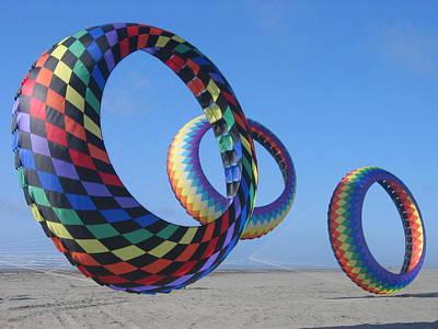Fun Day At The Beach Art Print by Barb Morton