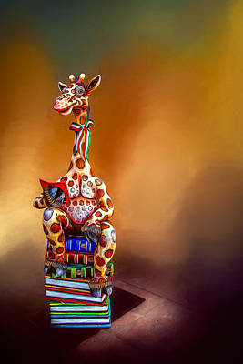 Photograph - Smart Giraffe by Maria Coulson