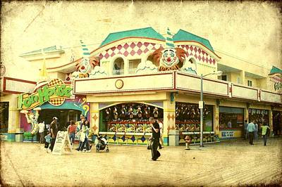 Photograph - Fun House - Jersey Shore by Angie Tirado