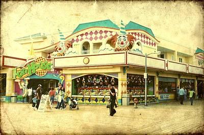 Fun House - Jersey Shore Art Print by Angie Tirado
