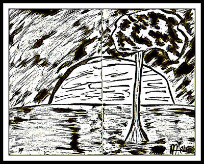 Digital Art - Fun In Trees 1 by Mario Perron