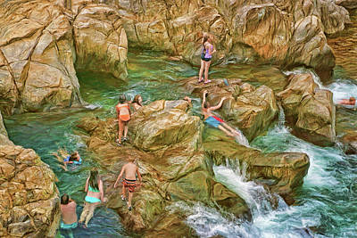 Photograph - Fun - Johnson's Shut-ins by Nikolyn McDonald