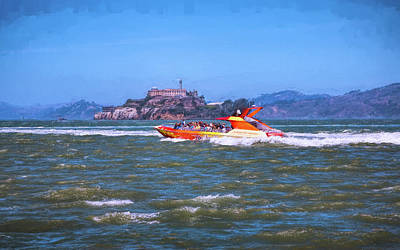 Photograph - Fun On San Francisco Bay by John M Bailey
