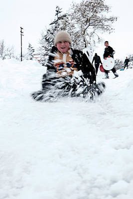 Photograph - Fun On Snow-5 by Okan YILMAZ