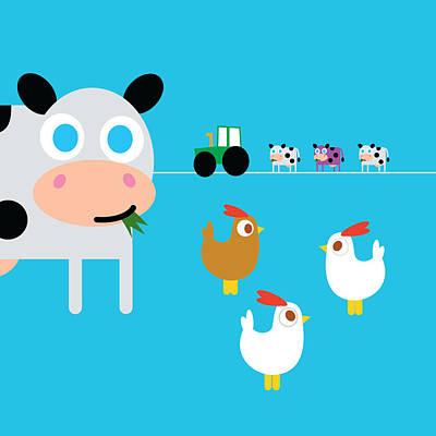 Digital Art - Fun On The Farm by Pbs Kids