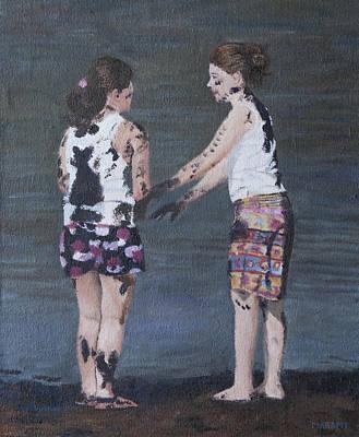 Painting - Fun Play by Masami Iida