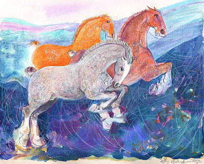 Fun Time Art Print by Mary Armstrong