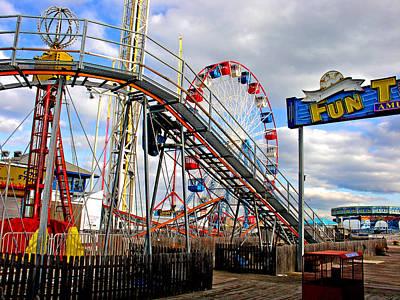Photograph - Fun Town by Steve Karol