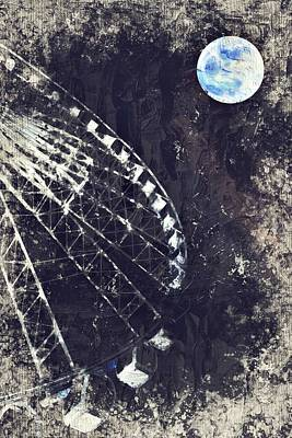 Interstellar Painting - Fun While Space Gazing By Adam Asar 5 by Adam Asar