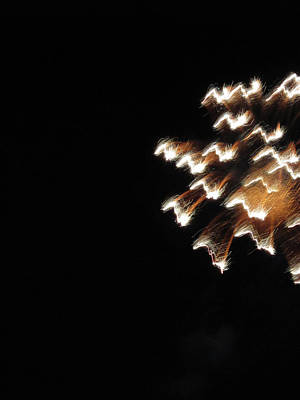 Photograph - Fun With Fireworks 2 by Mary Bedy