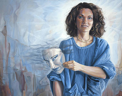 Supernatural Painting - Fundamentally Good by Lucie Bilodeau