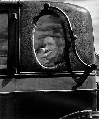 Sean Rights Managed Images - Funeral Cortege Dorothea Lange FSA photo end of an era in a small valley town California 1938 Royalty-Free Image by David Lee Guss