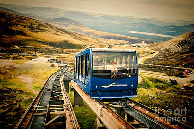 Photograph - Funicular by Diane Macdonald