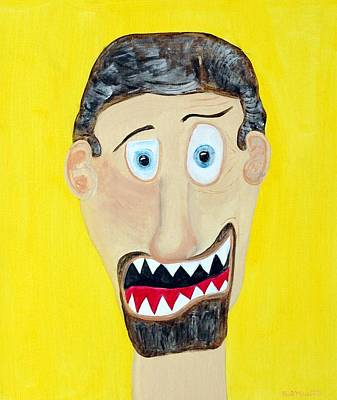 Funist Art Print by Sal Marino