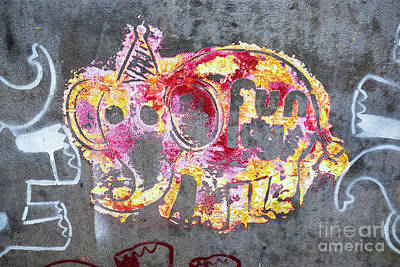 Photograph - Funky Elephant 01 by Rick Piper Photography