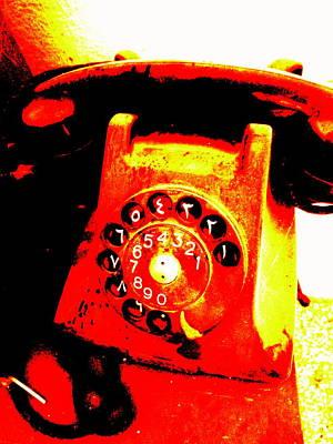 Funky Lebanese 1945 Phone  Art Print by Funkpix Photo Hunter