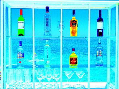 Valparaiso Photograph - Funky Seaside Paradise Bar In Valaparaiso by Funkpix Photo Hunter