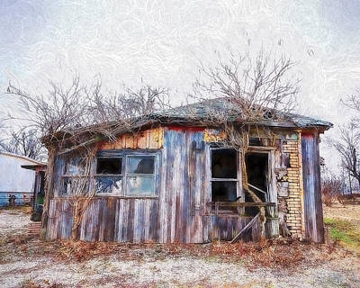 Painting - Funky Shack by Joe Sparks