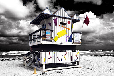 Photograph - Funky South Beach Fusion by John Rizzuto