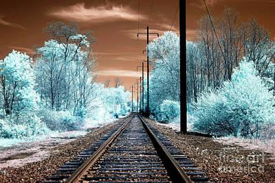 Photograph - Funky Tracks by John Rizzuto