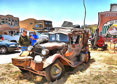 Photograph - Funky Truck From The Grapes Of Wrath Era by Floyd Snyder