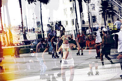 Photograph - Funky Venice Beach by John Rizzuto