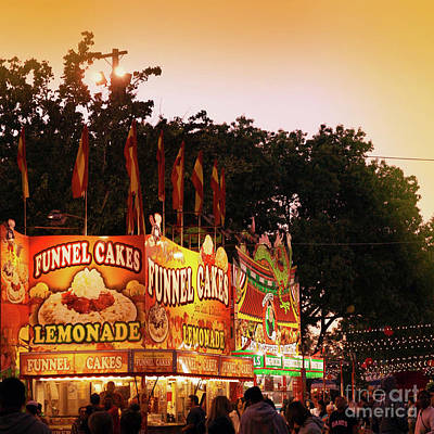 Photograph - Funnel Cakes by Cindy Garber Iverson
